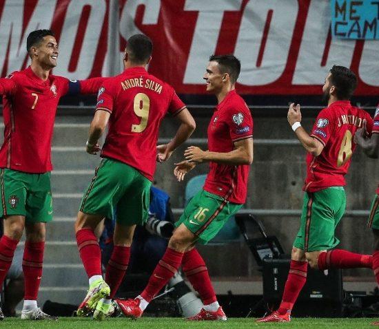 Portugal 5 - 0 Luksemburg