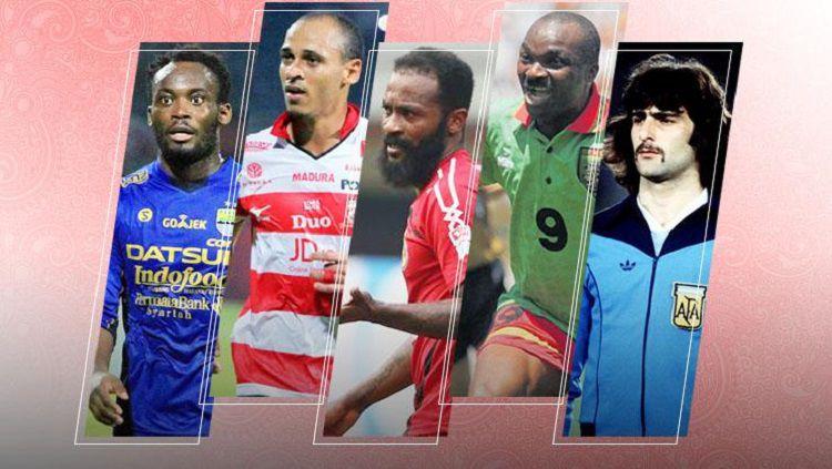 Pemain Piala Dunia di Liga Indonesia